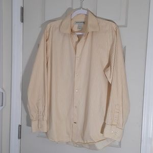 BANANA REPUBLIC LONG SLEEVE MEN SHIRT SIZE M